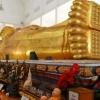 巨大な涅槃仏が横たわるチャンタブリ最大の寺院:ワット・パイ…