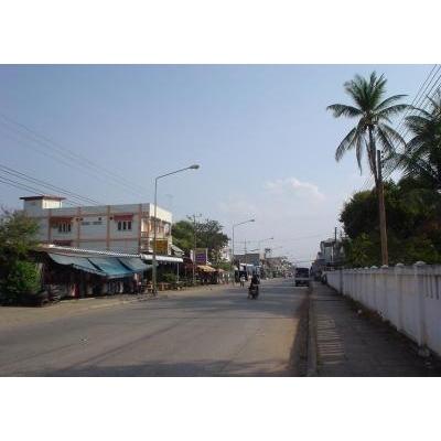 タケークの街並み