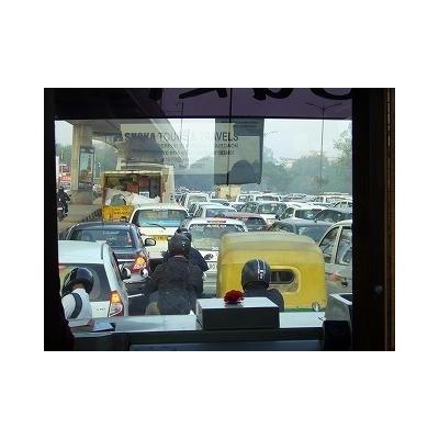 定番の大渋滞
