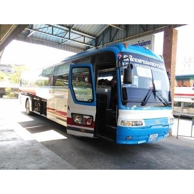 ムクダハンへの国際バス